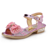 Sale Korean Style Girls High Heel Sandals Children S Shoes Oem Online
