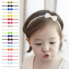 Girls Newborn Baby Toddler Bow Headband Hair Band Accessories Headwear 5pcs Hair Accessories