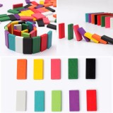 Deals For 240Pcs 10 Colors Authentic Standard Wooden Children Kids Domino Games Toys Building Blocks For Kids Toy Intl