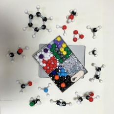 240Pcs Molecular Structure Building Model Kit Labs Chemistry Set Science Educational Toys Intl China
