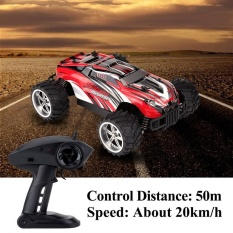 2 4Ghz Remote Control Four Wheel Drive Racing Car 1 16 Rc Model Vehicle Toy Red Intl Shopping