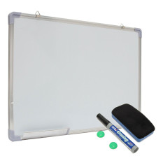 24x16 Single Side Magnetic Writing Whiteboard Dry Erase Board Office With Eraser - Intl By Freebang.
