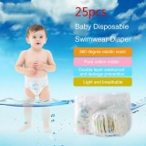 The Cheapest 25Pcs Baby Swim Diapers Disposable Waterproof Diaper Swimwear Baby Swim Suit For Boys Or Girls Children Swimwear Swimming Ly0340 25Pcs Intl Online