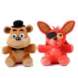 2Pcs Set Five Nights At Freddy S 4 Fnaf Foxy Fox Freddy Fazbear Bear Doll Stuffed Animals Plush Toys 10 China