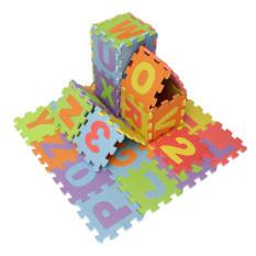 Best Price 2Sets 36Pcs Soft Eva Foam Baby Kids Play Mat Alphabet Number Puzzle Jigsaw 14 2X14 2Cm Export Intl