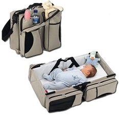 Sale 3 In 1 Diaper Bags Portable Crib Changing Station Travel Bassinet Baby Travel Bed Intl Oem Original