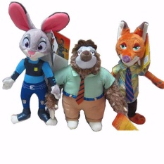 Buy Cheap 3 Styles 28 38Cm Cartoon Movie Zootopia Nick Fox Judy Rabbit Utopia Plush Stuffed Doll Toys For Kids Gifts Intl