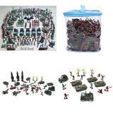 Buy 307 Pcs Sett Soldier Kit Grenade Tank Aircraft Rocket Army Men Sand Scene Model Intl Oem Cheap