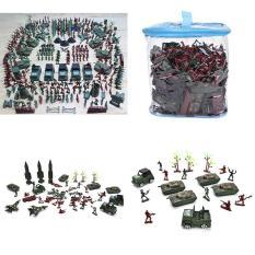 307 Pcs Sett Soldier Kit Grenade Tank Aircraft Rocket Army Men Sand Scene Model Intl Best Buy