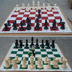 Sale 32 Pcs Set Medieval Chess Pieces Plastic Weighted Full Complete Chess 77Mm Intl China