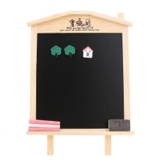 36x17cm Desktop Message Blackboard Chalkboard Kids Wooden Writing Board - Intl By Sportschannel.