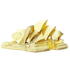 3D Model Kit Metal Sydney Opera House Gold Export Intl China