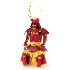 Best Deal 3D Puzzle Child Metallic Steel Nano Toy Gift Japanese Samurai Armor Intl