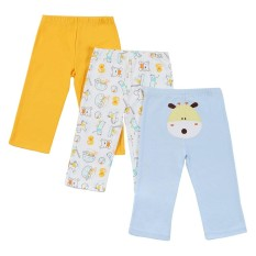 Who Sells The Cheapest 3Pcs Baby Pants Set 100 Cotton Unisex For Newborn Baby Infant 3M Intl Online