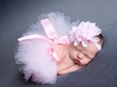 Who Sells The Cheapest 3Sets Newborn Photography Props Baby Studio Photoshoot Girls Floral Headband Tutu Skirt Set Atrezo Fotografia Bebe Baby Shower Intl Online