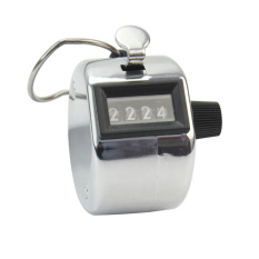4 Digit Number Hand Held Tally Counter Counting Manual Palm Golf Clicker New By Honeymore.