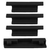 4 Pcs Silicone Drone Body Battery Charging Port Protector Set Protective Cover Cap Plug Dust Proof For Dji Spark Black Intl Cheap