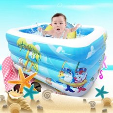 Cheap 4 Size Inflatable Swimming Water Pool Portable Outdoor Children Bathtub Game Playground Piscina Bebe Zwembad Pvc Waterproof