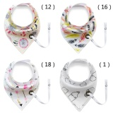 Lowest Price 4 X Baby Bandana Bibs With Rope Baby Bib Super Teething Absorbent Drool Bandana Bibs 100 Organic Cotton Intl