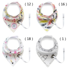 Discount 4 X Baby Bandana Bibs With Rope Baby Bib Super Teething Absorbent Drool Bandana Bibs 100 Organic Cotton Intl China