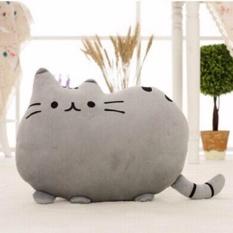 40Cm Kawaii Cats Cute Stuffed Animal Plush Toys Dolls Pusheen Shape Pillow Cushion For Kid Home Decoration Pink Intl Deal