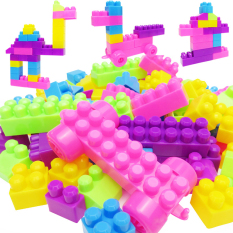 46pcs Plastic Children Kid Puzzle Educational Building Blocks Bricks Toy By Sportschannel.