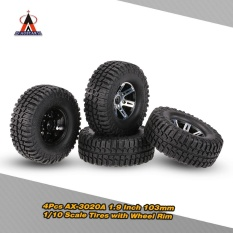 Price 4Pcs Austar Ax 3020A 1 9 Inch 103Mm 1 10 Scale Tires With Wheel Rim For 1 10 D90 Scx10 Cc01 Rc Rock Crawler Intl Hong Kong Sar China