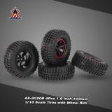 4Pcs Austar Ax 3020B 1 9 Inch 103Mm 1 10 Scale Tires With Wheel Rim For 1 10 D90 Scx10 Cc01 Rc Rock Crawler Intl Shop