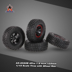 Price Compare 4Pcs Austar Ax 3020B 1 9 Inch 103Mm 1 10 Scale Tires With Wheel Rim For 1 10 D90 Scx10 Cc01 Rc Rock Crawler Intl