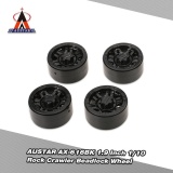 Coupon 4Pcs Austar Ax 616Bk 1 9 Inch 1 10 Rock Crawler Beadlock Wheel Rim Hub For D90 Scx10 Axial Rc4Wd Tf2 Rc Car Intl