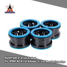 Compare Prices For 4Pcs Austar Ax2012Bu 2 2 Inch Hub For 1 10 Rock Crawler Redcat Scx10 Axial Rc4Wd Tf2 Rc Car Intl