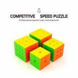 Best Reviews Of 4Pcs Moyu Cubing Classroom Speed Cube Brain Teaser Gift Box Set 2X2 3X3 4X4 5X5 Stickerless Puzzle Magic Cube Intl