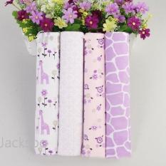 4Pcs Pack 40 X 30 102Cm 76Cm 100 Cotton Flannel Receiving Blanket For Swaddling Newborns Soft Absorbent Burp Cloths Intl For Sale Online