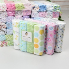 Review 4Pcs Pack 76Cm 76Cm 100 Cotton Flannel Receiving Blanket Color Ranodm Not Specified On Singapore