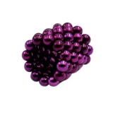 5 Mm 64 Pieces Magnetic Beads Magic Balls Spheres Diy Crafts Puzzleneodymium Iron Educational Toys Purple Intl Coupon