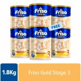 Sale Friso Gold 3 Growing Up Milk 1 8Kg X 6 Tins On Singapore