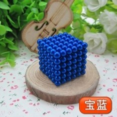 Buy 5Mm Colorful 216 Pcs Magnetic Bucky Balls Magic Cube Blue Intl China