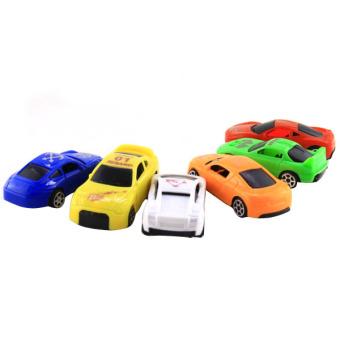 Shock Save Sale Surprise 6 Pcs Q Vsion Mini Racing Car Children