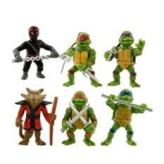 Cheaper 6Pcs Teenage Mutant Ninja Turtles Action Figures Toy Chlidkidstoyscollection Intl