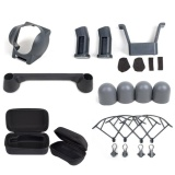 Buy 7 In 1 Dji Mavic Pro Accessories Kit Drone Body And Remote Bag Quick Release Propeller Prop Guards Landing Gear Lens Hood Joystick Protector Silicone Cap Intl Sunnylife Online