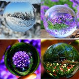 Discount 70Mm Rare Natural Quartz Crystal Glass Sphere Ultra Clear Acrylic Ball Manipulation Contact Juggling Fuuny Gadgets Magic Props Tricks Chakra Healing Gemstone Kids Toy Intl Oem On China