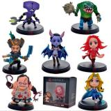Lowest Price 7Pcs Set Dota 2 Game Figure Kunkka Lina Pudge Queen Tidehunter Cm Fv Pvc Action Figures Collection Dota2 Toys
