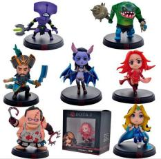 Deals For 7Pcs Set Dota 2 Game Figure Kunkka Lina Pudge Queen Tidehunter Cm Fv Pvc Action Figures Collection Dota2 Toys