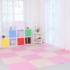 8 Pcs Baby Eva Foam Play Puzzle Mat/ Interlocking Exercise Tiles Floor Carpet Rug For Kid,each 60cmx60cmx1.2cm Thick - Intl By Jacksoo.
