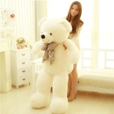 80Cm Giant Big Cute Plush Stuffed Teddy White Bear Huge Soft 100 Cotton Toy Best Gift Intl Best Buy