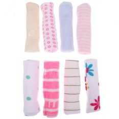 8pcs Baby Feeding Cotton Towel (multicolor) By Welcomehome.