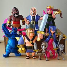 Price 8Pcs Lot Clash Of Clans Coc Figures 12Cm Supercell Phone Game Model Dolls Intl Online China