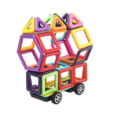 95pcs Portable Child Magnetism Blocks Toys Kids Educational Stacking Building Blocks Set With Storage Box For Boys Girls Random Color - Intl By Stoneky.
