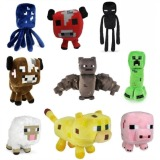 Review 9Pcs Set Assorted Styles Super Cute Minecraft Plush Toys Minecraft On China