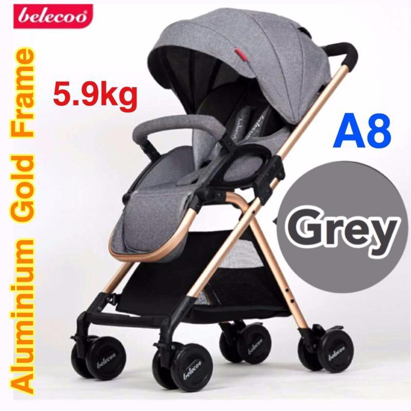 A8 5.9kg Stroller / Pram (Grey) Singapore
